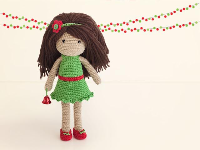 amigurumi-muneca-navidad-vestido-gratis-patron-free-pattern-dress-doll