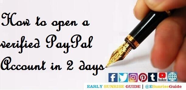 @ESunriseGuide_PayPal_Verification