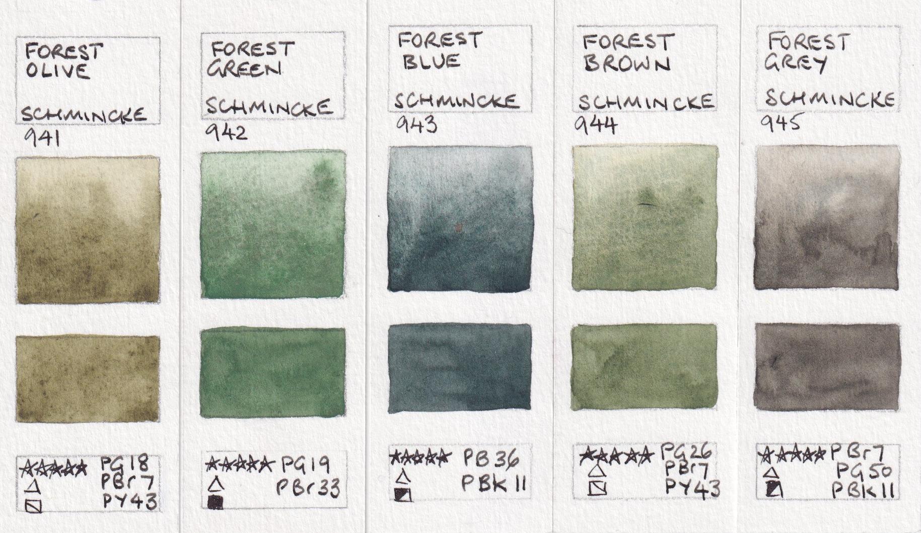 Jane Blundell Artist: New Colours from Schmincke