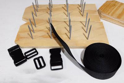 aerate shoe nylon strap roll buckle