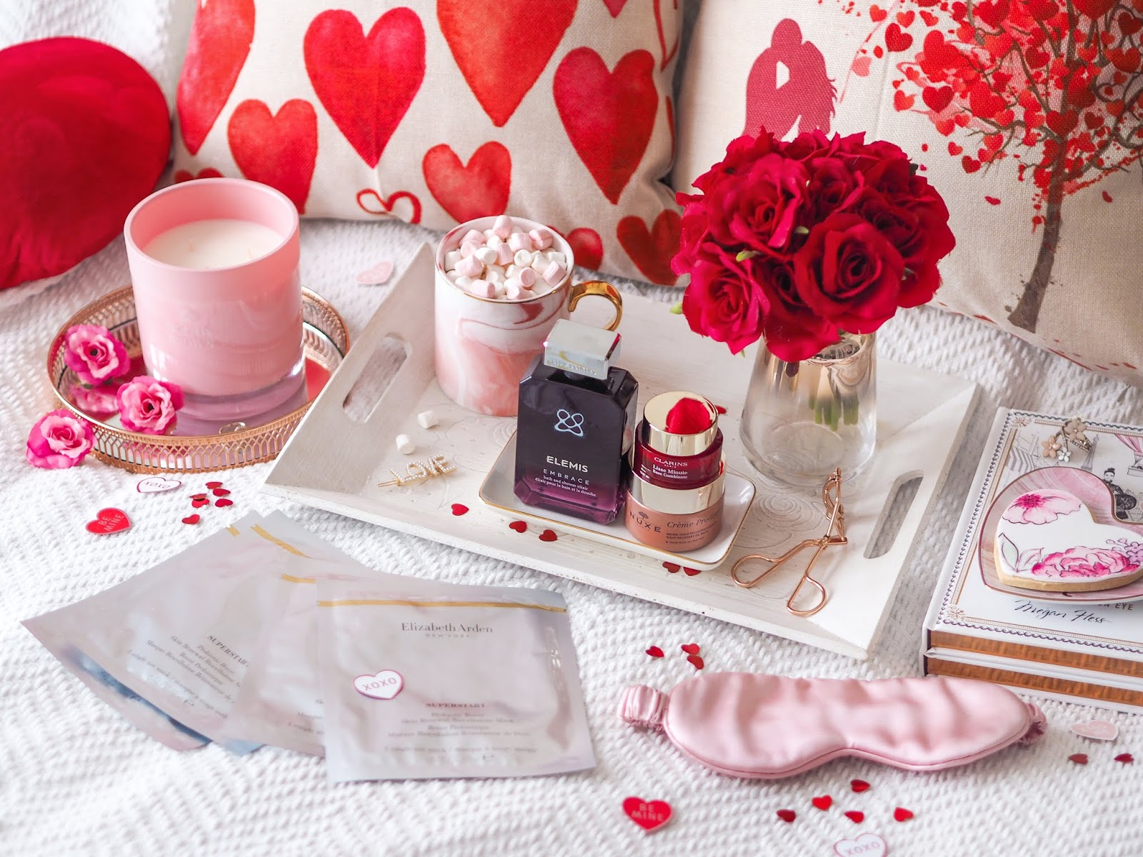 5 Tips For The Perfect Galentine's Night In, Galentine's Day, Galentine's Night In, Girls Night In, Katie Kirk Loves, UK Beauty Blogger, Skincare, Blogger, Pamper Night, Beauty Products, Fragrance Direct
