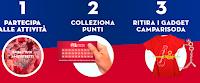 Logo Campari ''Amici Stretti Tour 2017'' : colleziona punti, ritira gadget e vinci voucher aperitivo