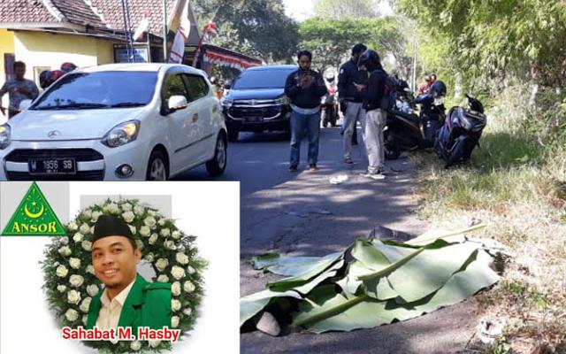 Tabrakan dengan Truk, Kepala MTS-Wasek Ansor Bangil Meninggal