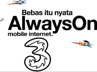 cara mendapatkan bonus kuota internet gratis tri aon