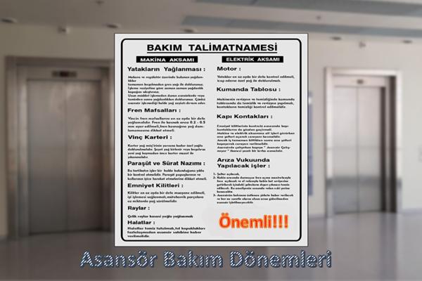 Asansör Bakım Dönemleri   Asya Lift Asansör İstanbul