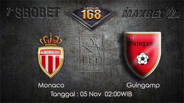 PREDIKSIBOLA - PREDIKSI TARUHAN BOLA MONACO VS GUINGAMP 5 NOVEMBER 2017 (Ligue 1)