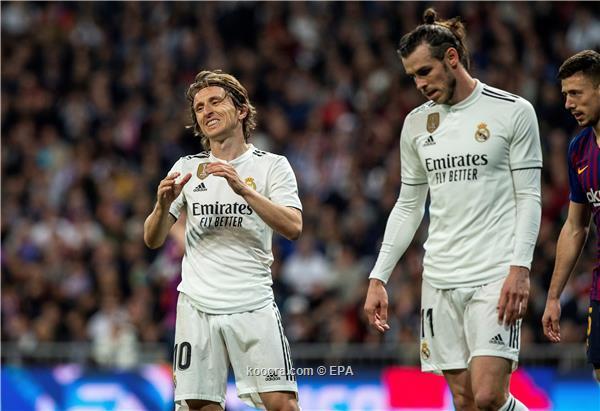 بيل ومودريتش خارج قائمة ريال مدريد ضد جالطة سراي