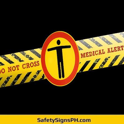 Medical Alert Sign
