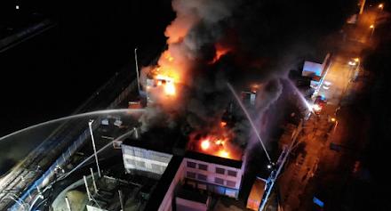 Ανακοίνωση της Meteociel για την καταστροφική πυρκαγιά