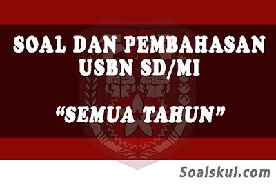 Download Kumpulan Soal dan Pembahasan USBN SD/MI (TERBARU)