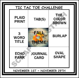November Tic Tac Toe Stash Challenge