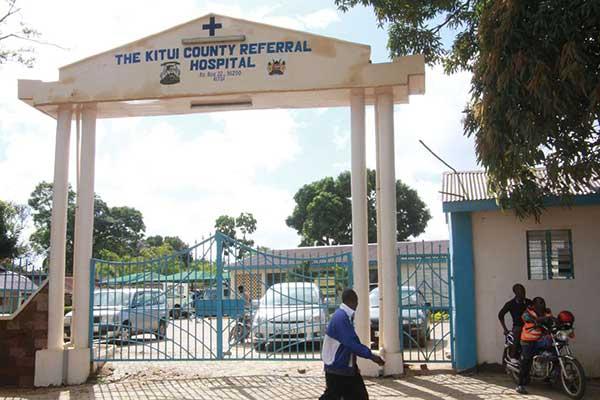 Kitui county referal hospital photos