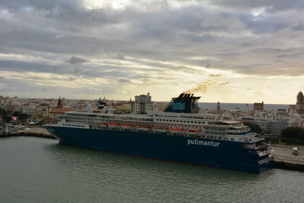 Port of Cadiz Pullmantur