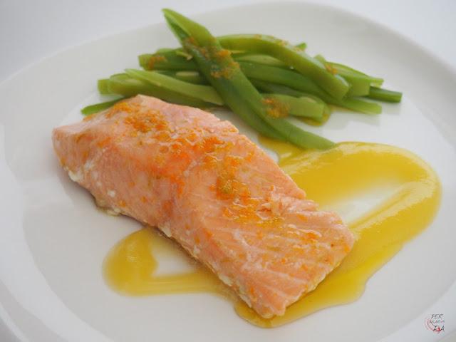 Salmón con emulsión de cítricos - Per sucar-hi pa