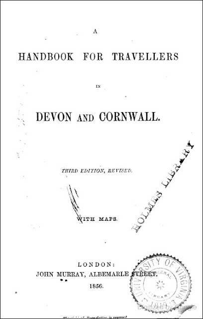 Handbook for Travellers in Devon and Cornwall (John Murray, 1856)