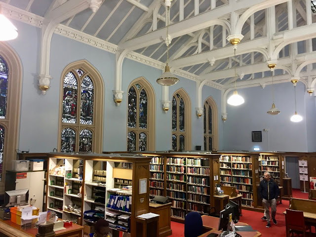 New College library, Assembly Hall, University of Edinburgh