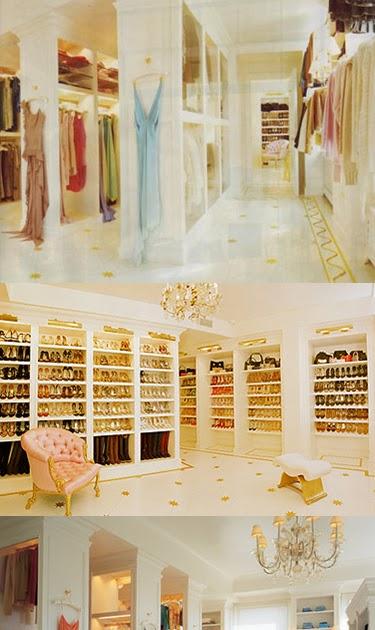 GlamWise Mariah Careys Walk In Closet