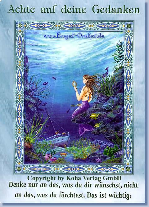 Orakel de tageskarte erzengel engel Deine Engelkarte