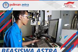 Beasiswa ASTRA Untuk Siswa Kelas 12 yang Ingin Kuliah Diploma 3 (D3)
