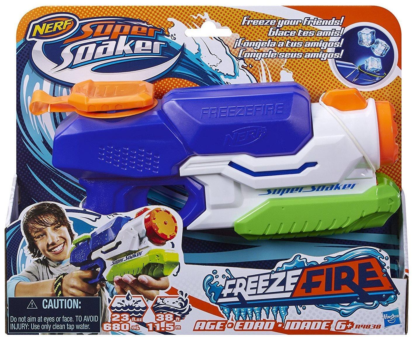 Nerf Super Soaker Freeze Fire Blaster