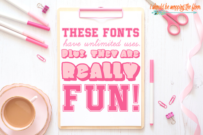 Teacher Fonts