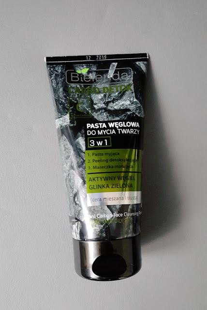 Pasta węglowa do mycia twarzy + alternatywa dla niej