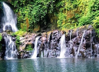 Single Touring ke Taman Sari Waterfall Gianyar
