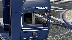 Scania Streamline dark sleeper window mod