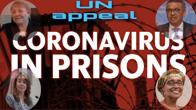 La ONU insta nuevamente a los gobiernos a liberar a los prisioneros enfermos que corren el riesgo de contraer la Covid-19