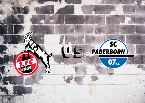 Köln vs Paderborn  Resumen