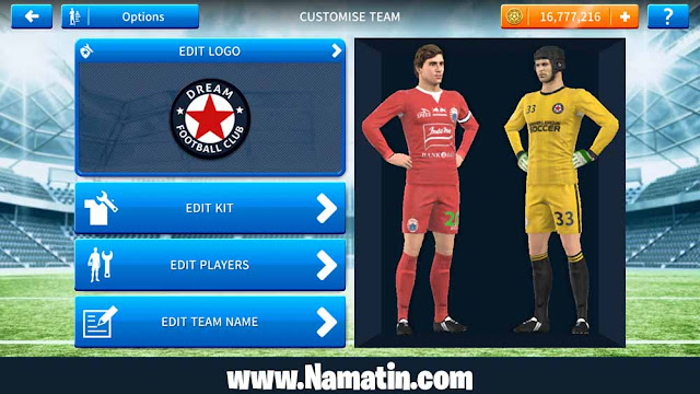 Kostum Dream League Soccer Persija 2019