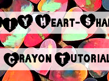DIY Heart-Shaped Crayon Tutorial