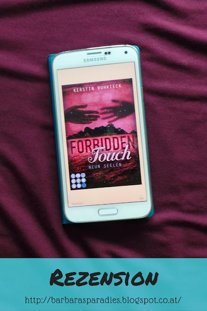 Buchrezension #89 Forbidden Touch 3 - Neun Seelen von Kerstin Ruhkieck