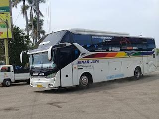 Bus Sinar Jaya Ngebut 143 KM/Jam, Ini Rahasia Mesin Hino J08E-VT di Chassis Bus Hino RN 285
