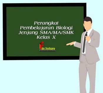Perangkat Pembelajaran Biologi Jenjang SMA/MA/SMK Kelas X