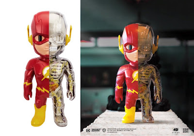 The Flash 4D XXRAY Dissected Vinyl Figure by Jason Freeny x Mighty Jaxx x DC Comics