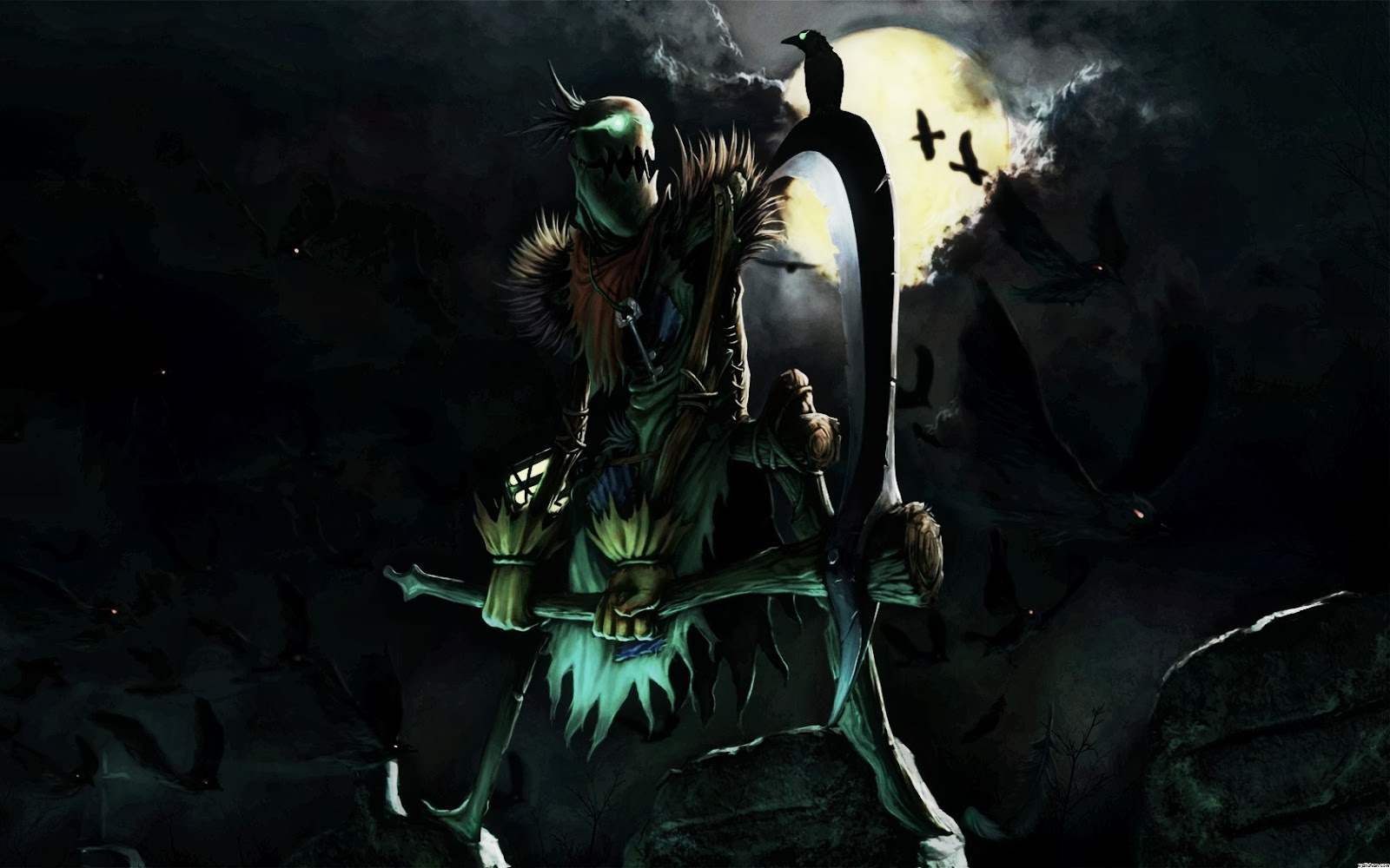 Fiddlesticks League of Legends Wallpaper, Fiddlesticks ...