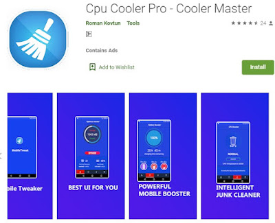 pendingin hp android otomatis - cpu cooler pro