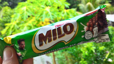 milo rice cereal bar