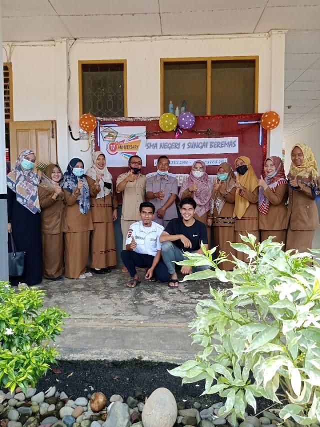 Dirgahayu yg Ke-17Th SMA Negeri 1 Sungai Beremas.