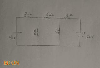 طريقة المش لحل الدوائر الكهربية