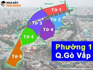 Bản đồ quy hoạch lộ giới hẻm phường 1 quận Gò Vấp