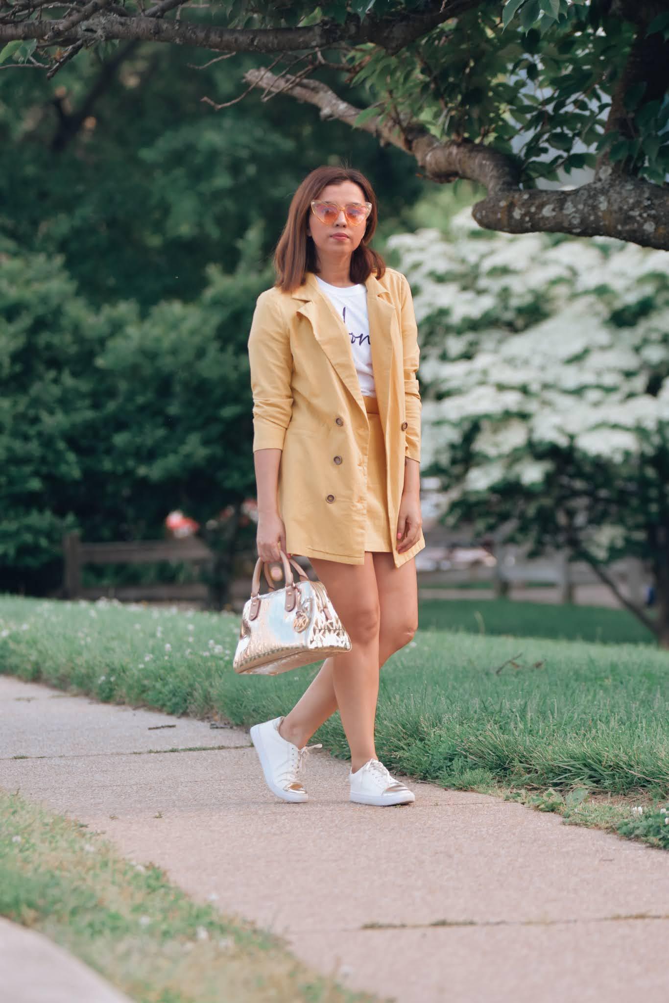 como combinar un blazer amarillo- como crear outfits desde cero-como combinar el color amarillo-mariestilo-como crear outfits con tu ropa-como combinar tu ropa-outfits mujeres-mariestilo-marisolflamenco