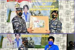 Yudo Margono Serahkan Bantuan Cegah Covid ke RSAL Lantamal XI Merauke
