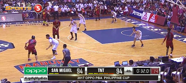 San Miguel def. TNT KaTropa, 98-94 (REPLAY VIDEO) January 28