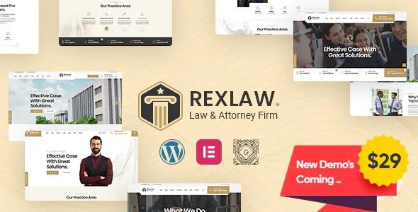 Best Law & Attorney WordPress Theme