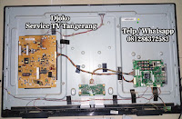 service lcd led tv bsd serpong