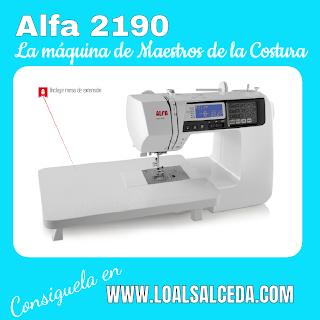 Maquina de coser Alfa 2190, la máquina de coser de Maestros de la costura