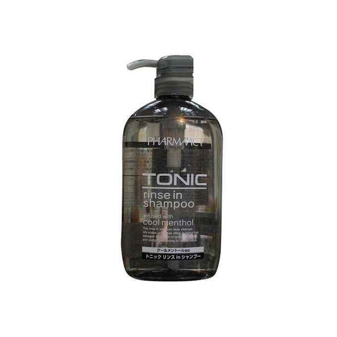 Dầu gội xả 2 trong 1 Pharmaact Tonic Rinse In Shampoo 600ml