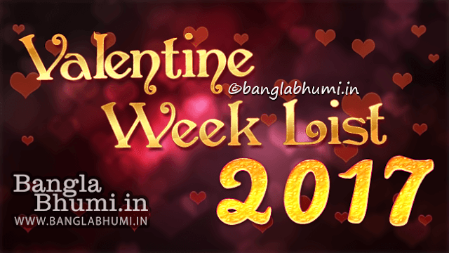 Valentine Week List 2017 Dates & Schedule